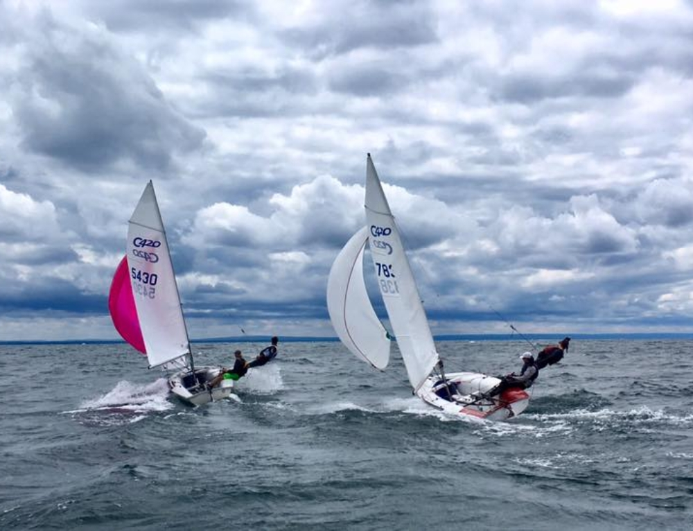 GCYSA Radial Sailor Ricky Welch Reflects on Summer 2017